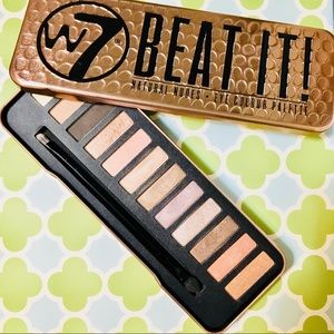 "W7  ""BEAT IT!"" Natural Nudes Eye Color Palette"